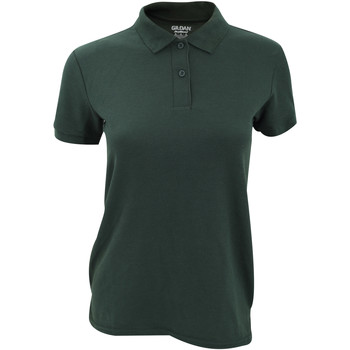 textil Dame Polo-t-shirts m. korte ærmer Gildan 75800L Forest Green