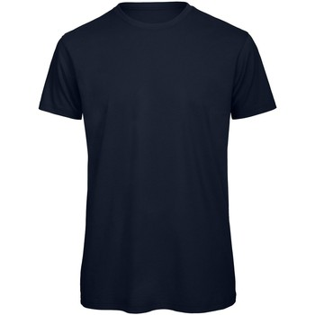 textil Herre T-shirts m. korte ærmer B And C TM042 Navy Blue