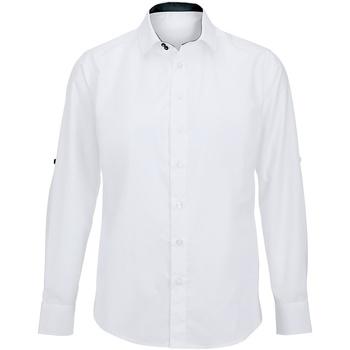 textil Herre Skjorter m. lange ærmer Alexandra Hospitality White/ Black
