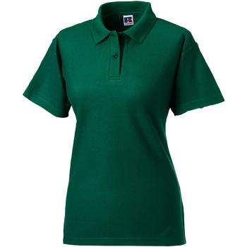 textil Dame Polo-t-shirts m. korte ærmer Jerzees Colours 539F Bottle Green