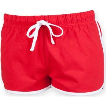 textil Børn Shorts Skinni Fit SM069 Red / White