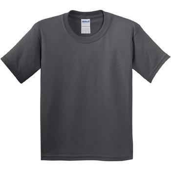 textil Børn T-shirts m. korte ærmer Gildan 5000B Charcoal