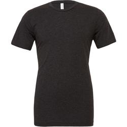 textil Herre T-shirts m. korte ærmer Bella + Canvas CA3413 Charcoal Black Triblend