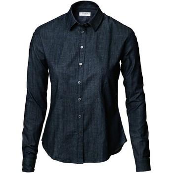 textil Dame Skjorter / Skjortebluser Nimbus NB65 Indigo Blue