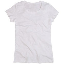 textil Dame T-shirts m. korte ærmer Stedman Stars Sharon White