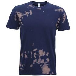 textil T-shirts m. korte ærmer Colortone TD09M Navy