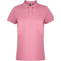 textil Dame Polo-t-shirts m. korte ærmer Asquith & Fox  Pink Carnation