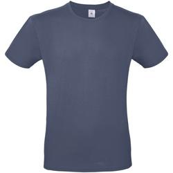 textil Herre T-shirts m. korte ærmer B And C TU01T Denim