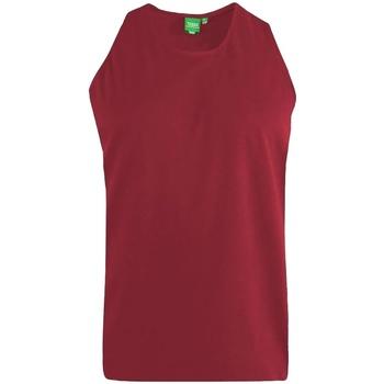 textil Herre Toppe / T-shirts uden ærmer Duke  Red
