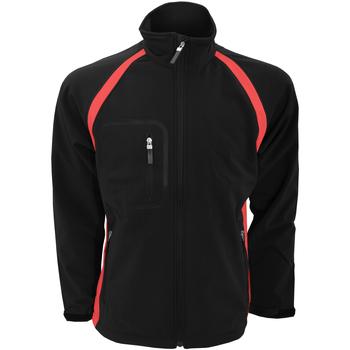 textil Herre Jakker Finden & Hales LV620 Black/Red