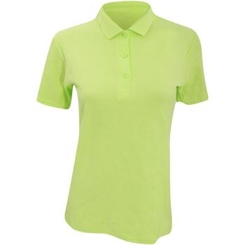 textil Dame Polo-t-shirts m. korte ærmer Anvil 6280L Key Lime