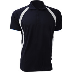textil Herre Polo-t-shirts m. korte ærmer Gamegear Riviera Navy/White
