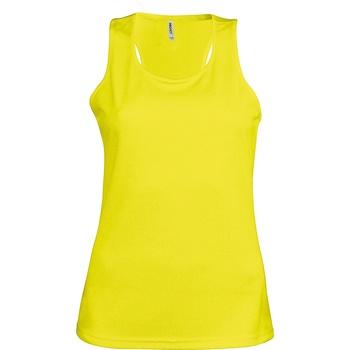 textil Dame Toppe / T-shirts uden ærmer Kariban Proact Proact Fluorescent Yellow