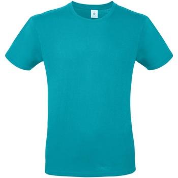 textil Herre T-shirts m. korte ærmer B And C TU01T Real Turquoise