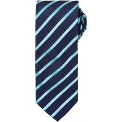 textil Herre Slips og accessories Premier Formal Navy/ Turquoise