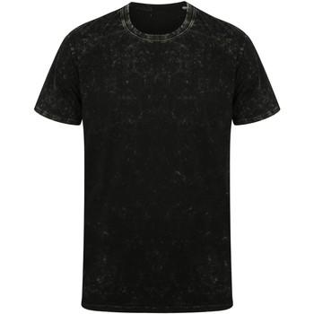 textil T-shirts m. korte ærmer Skinni Fit SF203 Washed Black