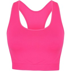 textil Dame Sports-BH Skinni Fit SK235 Neon Pink