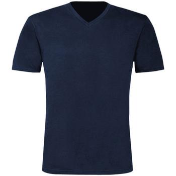 textil Herre T-shirts m. korte ærmer B And C TU006 Navy Blue