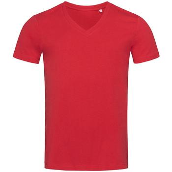 textil Herre T-shirts m. korte ærmer Stedman Stars  Pepper Red