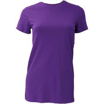 textil Dame T-shirts m. korte ærmer Bella + Canvas BE6004 Team Purple