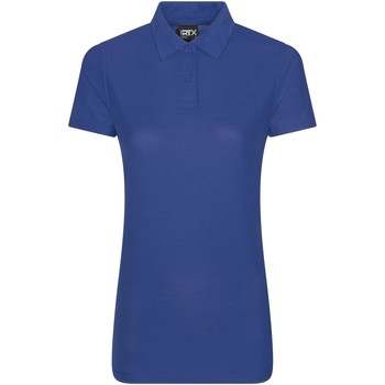 textil Dame Polo-t-shirts m. korte ærmer Pro Rtx RX05F Royal Blue