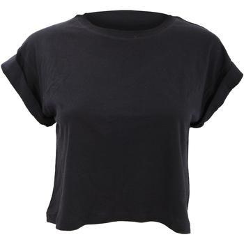 textil Dame T-shirts m. korte ærmer Mantis M96 Black