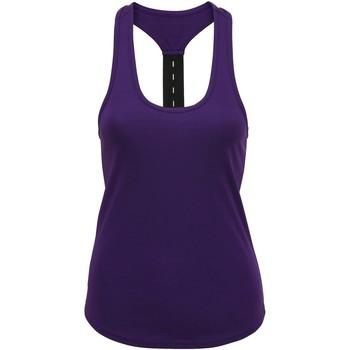 textil Dame Toppe / T-shirts uden ærmer Tridri TR027 Purple
