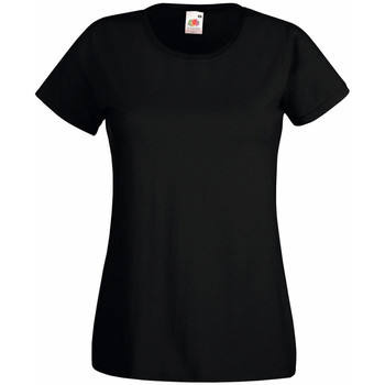 textil Dame T-shirts m. korte ærmer Universal Textiles 61372 Jet Black