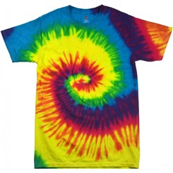 textil Dame T-shirts m. korte ærmer Colortone Rainbow Rainbow