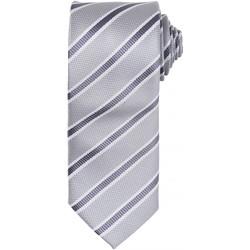 textil Herre Slips og accessories Premier  Silver/Dark Grey