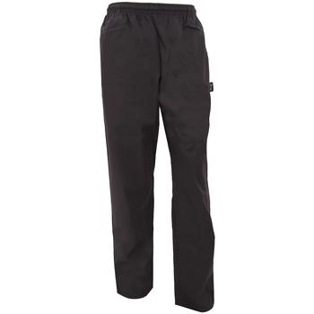 textil Løstsiddende bukser / Haremsbukser Dennys DC18B Black