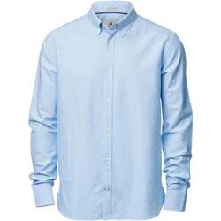 textil Herre Skjorter m. lange ærmer Nimbus NB45M Light Blue