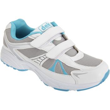 Sko Dame Lave sneakers Dek  White/Blue
