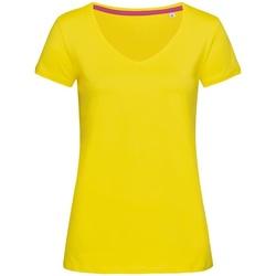 textil Dame T-shirts m. korte ærmer Stedman Stars Megan Daisy Yellow