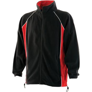 textil Herre Fleecetrøjer Finden & Hales LV550 Black/Red/White