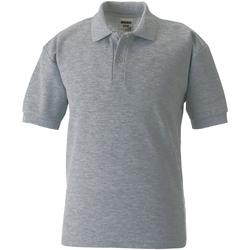 textil Dreng Polo-t-shirts m. korte ærmer Jerzees Schoolgear 65/35 Light Oxford