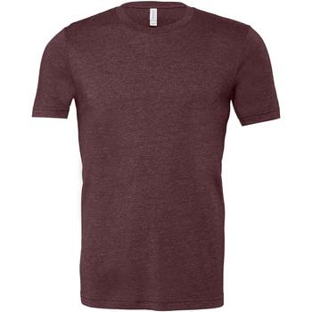 textil Herre T-shirts m. korte ærmer Bella + Canvas CA3001 Heather Maroon