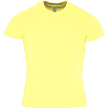 textil Børn T-shirts m. korte ærmer American Apparel AA057 Lemon