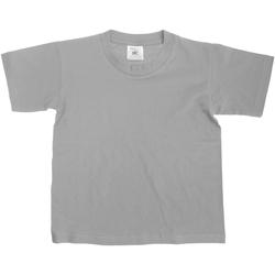 textil Børn T-shirts m. korte ærmer B And C Exact Sport Grey