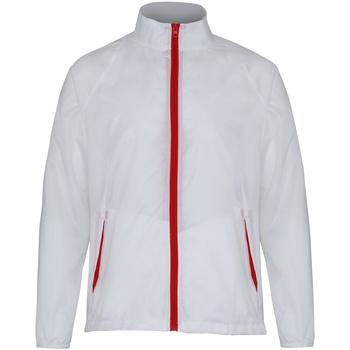 textil Herre Vindjakker 2786 TS011 White/ Red
