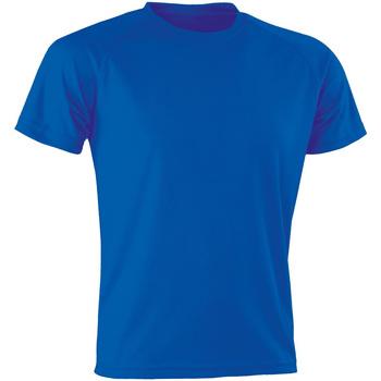 textil T-shirts m. korte ærmer Spiro Aircool Royal