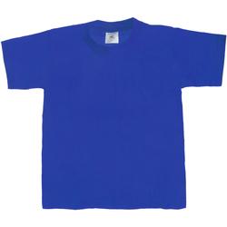 textil Børn T-shirts m. korte ærmer B And C TK301 Royal