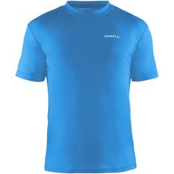 textil Herre T-shirts m. korte ærmer Craft CT086 Swedish Blue