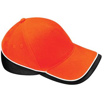 Accessories Kasketter Beechfield B171 Orange/Black/ White