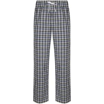 textil Herre Pyjamas / Natskjorte Skinni Fit SFM83 White/Multi Check