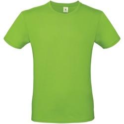 textil Herre T-shirts m. korte ærmer B And C TU01T Orchid Green