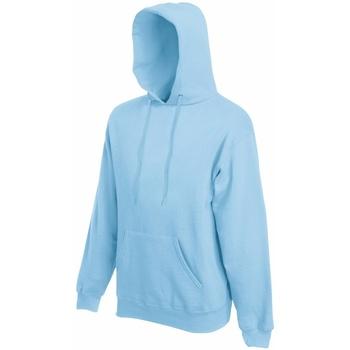 textil Herre Sweatshirts Fruit Of The Loom 62208 Sky Blue
