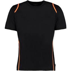 textil Herre T-shirts m. korte ærmer Gamegear Cooltex Black/Fluorescent Orange