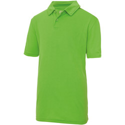 textil Børn Polo-t-shirts m. korte ærmer Just Cool  Lime
