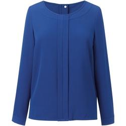 textil Dame Toppe / Bluser Brook Taverner BR121 Royal Blue